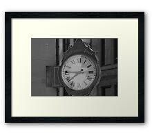Trusting Time Framed Print