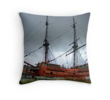 The Batavia - HDR Throw Pillow