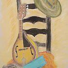Mandolin Hat by JRobinWhitley