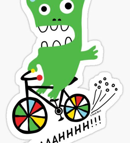 Critter Bike  Sticker