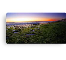 North Beach At Dusk  Canvas Print