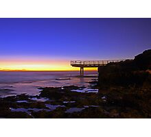North Beach Jetty At Dusk  Photographic Print
