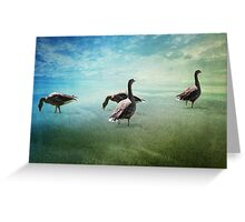 Going for a paddle! Greeting Card