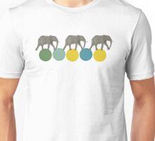Travelling Elephants Unisex T-Shirt