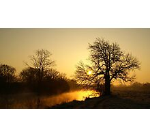 Sunrise over the Stour (1) Photographic Print
