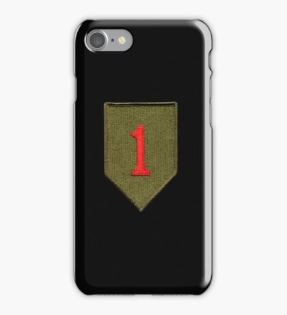 Big Red One - 1st Infantry Division iPhone Case/Skin