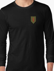 Big Red One - 1st Infantry Division Long Sleeve T-Shirt