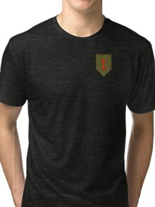 Big Red One - 1st Infantry Division Tri-blend T-Shirt