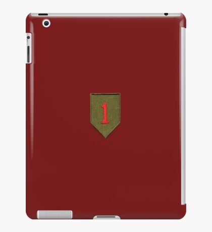 Big Red One - 1st Infantry Division iPad Case/Skin