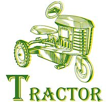 T is for Tractor by Edward Fielding