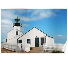 Point Loma Lighthouse  San Diego, Ca Poster