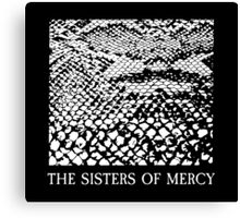 The Sisters Of Mercy - The Worlds End - Anaconda Canvas Print
