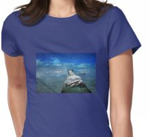 The Tortoise & the Hare take a break Womens Fitted T-Shirt