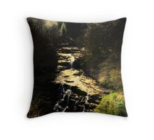 Falls pf Clyde New Lanark Throw Pillow