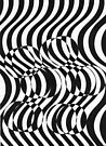 81 - OP ART - 02 - DAVE EDWARDS - INK - 1984 by BLYTHART