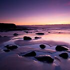 Sunset at low tide, Lahinch by celticpics