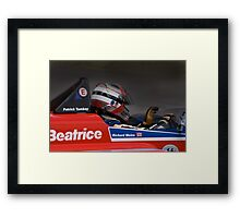 Racing passion Framed Print