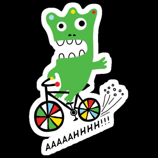 Critter Bike  by Andi Bird