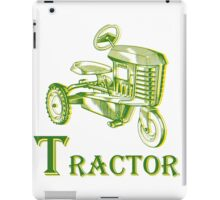 T is for Tractor iPad Case/Skin