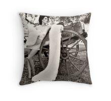 Runaway Bride Throw Pillow