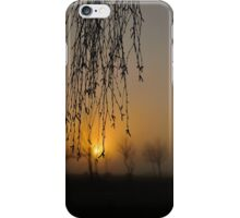 early morning curtain #2 iPhone Case/Skin