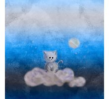 cat in the sky Photographic Print