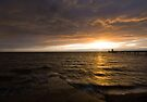 Clevedon Seafront Sunset by Nigel Bangert