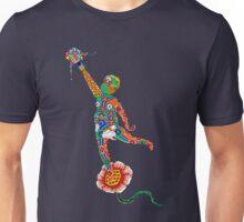 Korean Buddhist Temple Boy Unisex T-Shirt