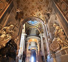 St Peter by Christophe Testi
