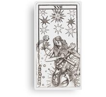 THE TAROT NYMPH collaboration with Bernard Dumaine Canvas Print