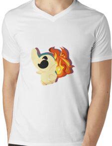 cyndaquil. Mens V-Neck T-Shirt