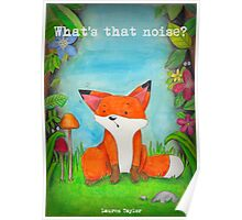 What's that noise? Freddy the Fox  Poster