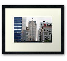 Streetview Framed Print