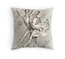 Pure Elegance Throw Pillow