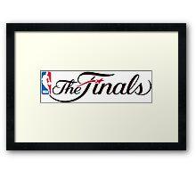 NBA The 2015 Finals Framed Print