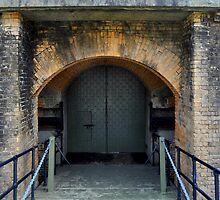 Fort Barrancas' Archs and Doors IV by Magricely Diaz
