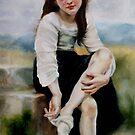Bouguereau Study II by spiffing