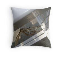weightless (Cranefly) Throw Pillow