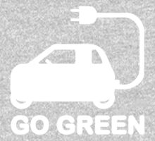 Go Green ~ Drive Electric Cars One Piece - Long Sleeve