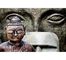 Buddha & friends... Photographic Print