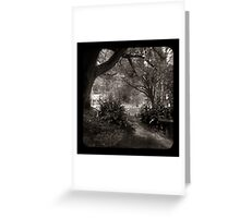 The Path through the viewfinder Greeting Card