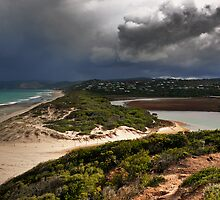 Coastal Storm,Airey's Inlet,Great Ocean Road. by Darryl Fowler