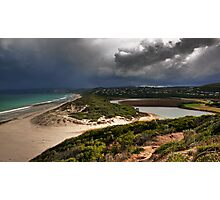 Coastal Storm,Airey's Inlet,Great Ocean Road. Photographic Print