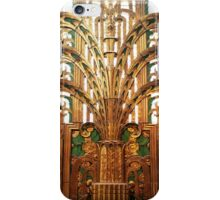Miami Art Deco Gold iPhone Case/Skin