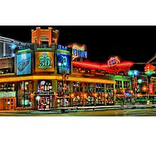 Hockeytown Cafe Baby Photographic Print