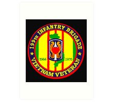199th Infantry - Vietnam Veteran Art Print
