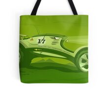 The race across the amazing green planet Tote Bag