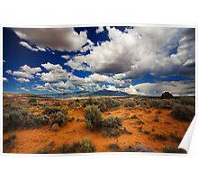 Utah desert Poster