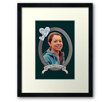 Beth Childs Transparent - Orphan Black Framed Print