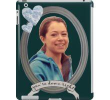 Beth Childs Transparent - Orphan Black iPad Case/Skin